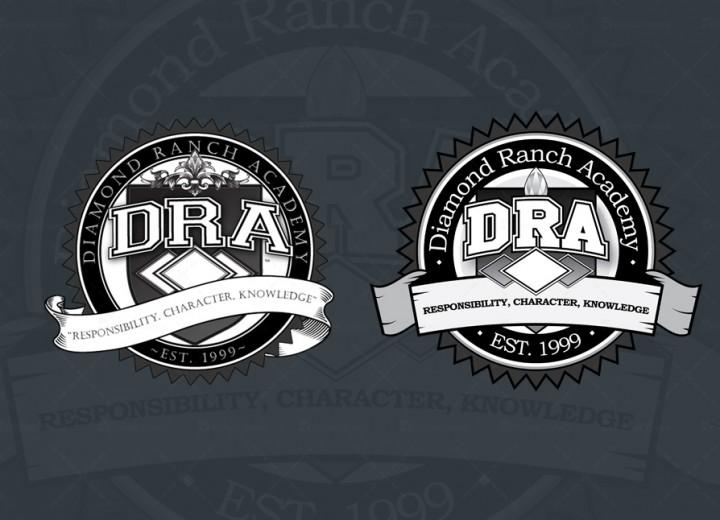 Diamond Ranch Academy Logo - Dane shakespeare