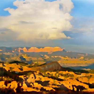 Watercolor - From Bryce Canyon